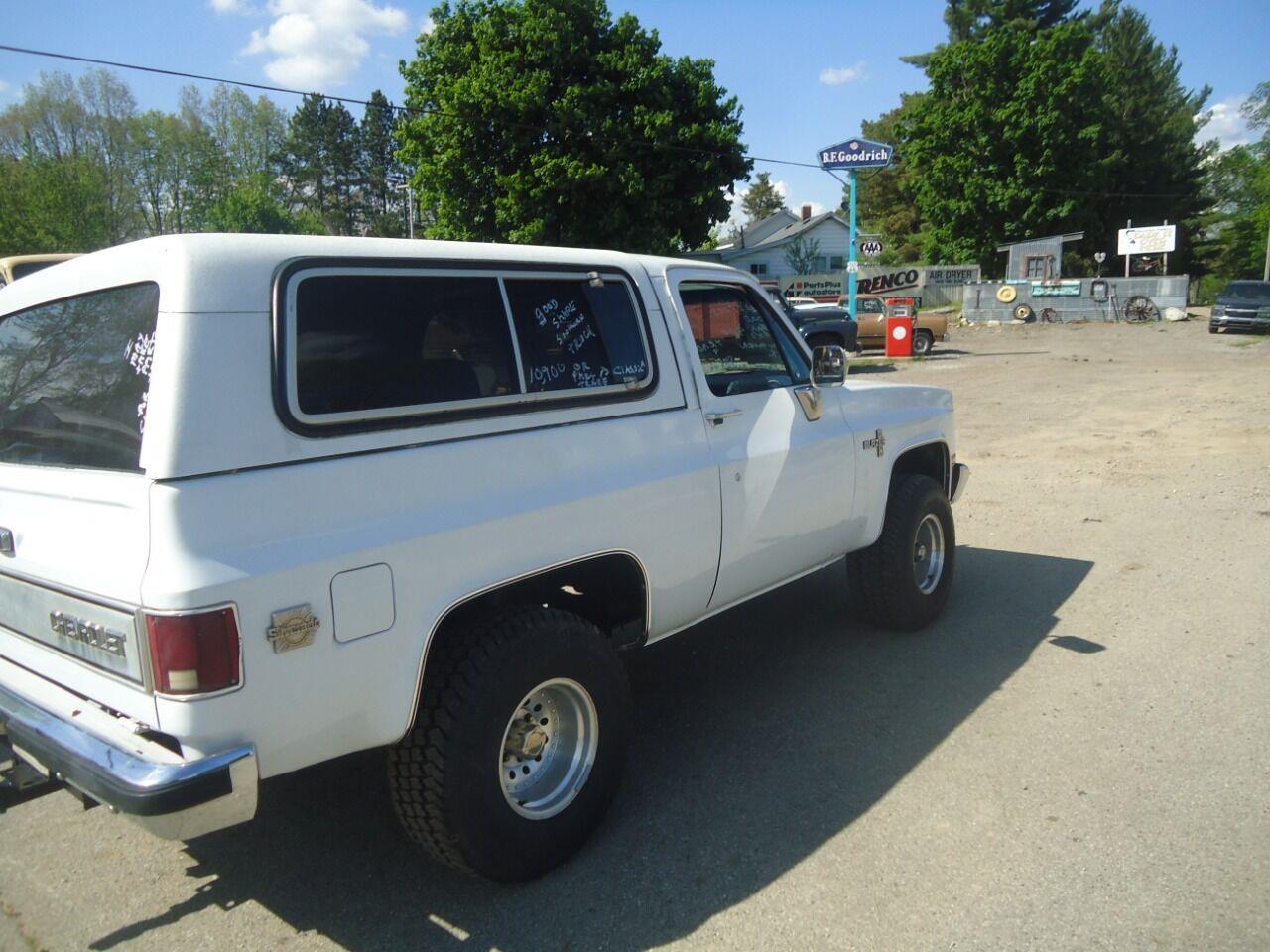 1986 Chevrolet Blazer (CC-1353509) for sale in Jackson, Michigan