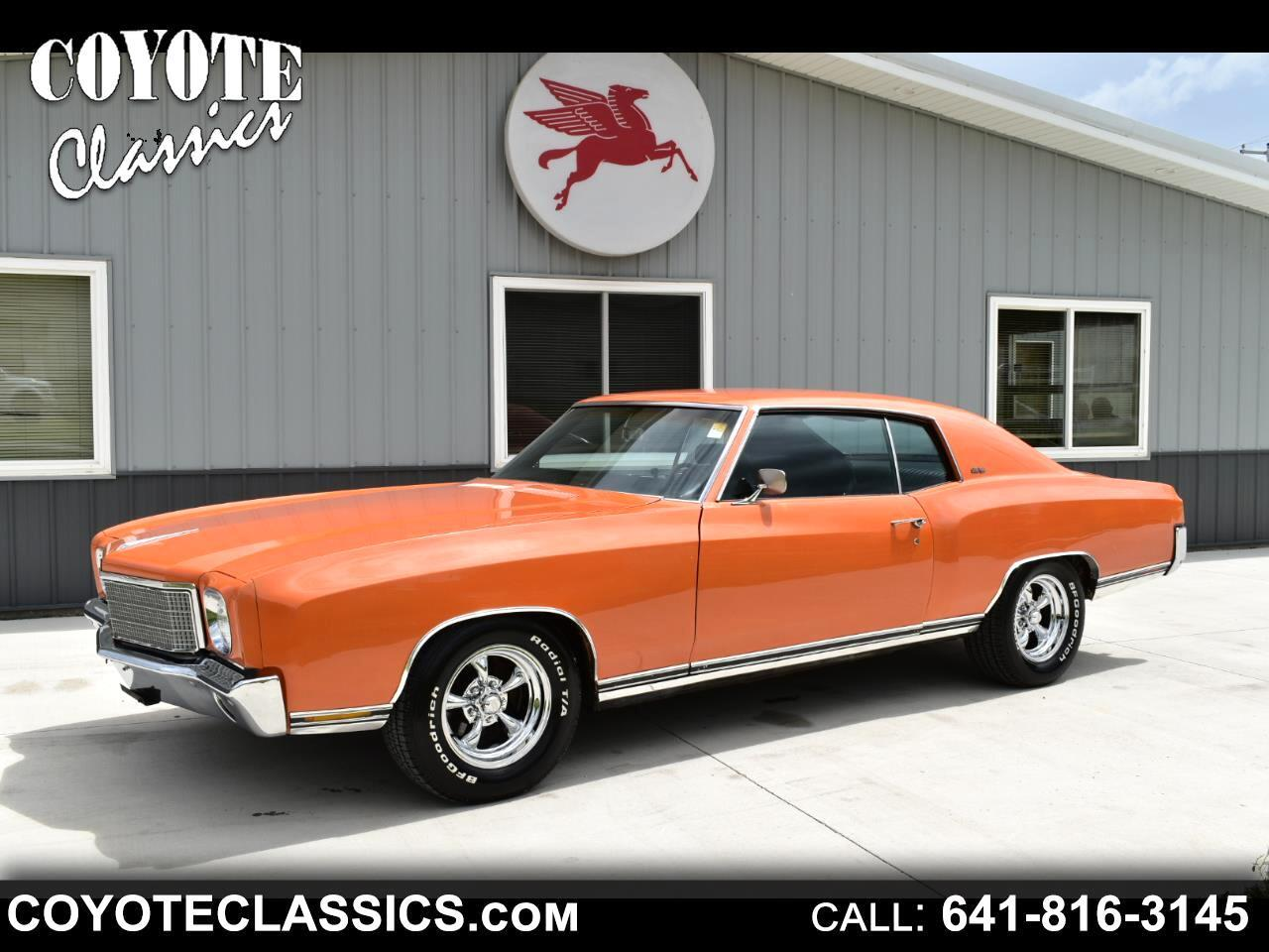 1970 Chevrolet Monte Carlo (CC-1353547) for sale in Greene, Iowa