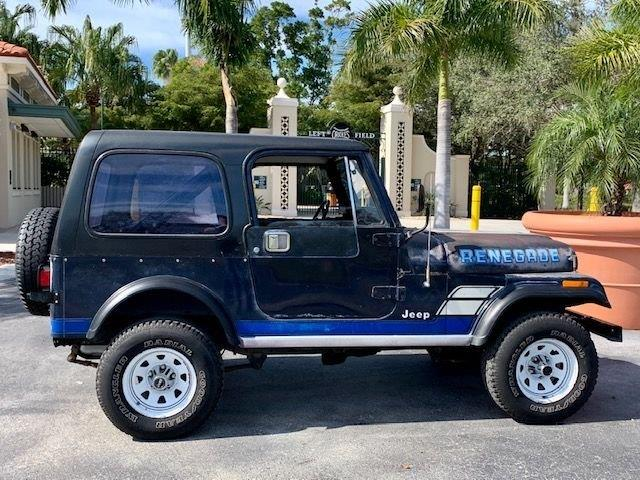 1983 Jeep CJ (CC-1353759) for sale in Punta Gorda, Florida
