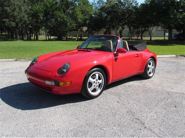 1997 Porsche 993 Carrera 2 Cabriolet (CC-1350381) for sale in Sarasota, Florida