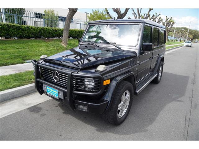 2002 Mercedes-Benz G500 (CC-1353813) for sale in Torrance, California