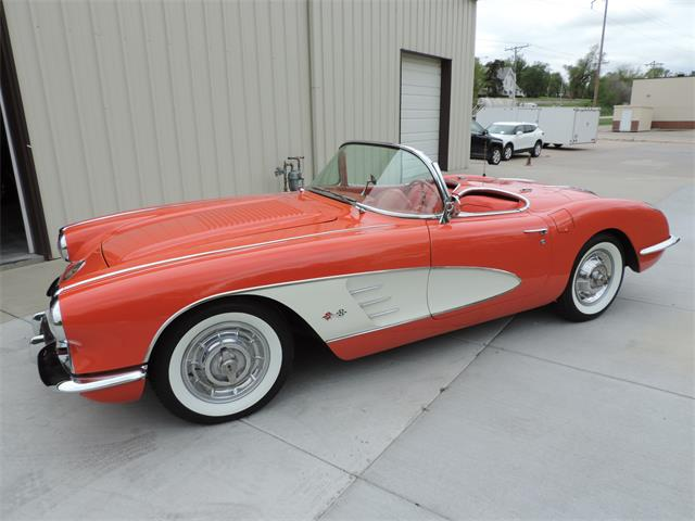 1958 Chevrolet Corvette (CC-1353911) for sale in Springfield, Nebraska