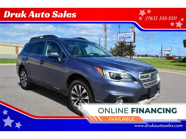 2017 Subaru Outback (CC-1354006) for sale in Ramsey, Minnesota