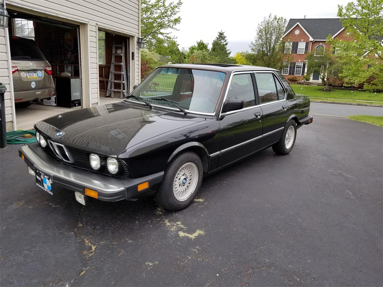 1982 BMW 528e (CC-1354059) for sale in Schwenksville, Pennsylvania
