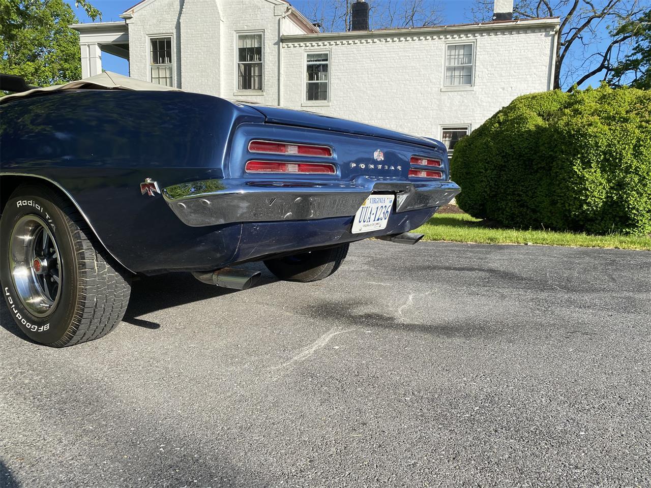 1969 Pontiac Firebird (CC-1354140) for sale in Penn Laird, Virginia