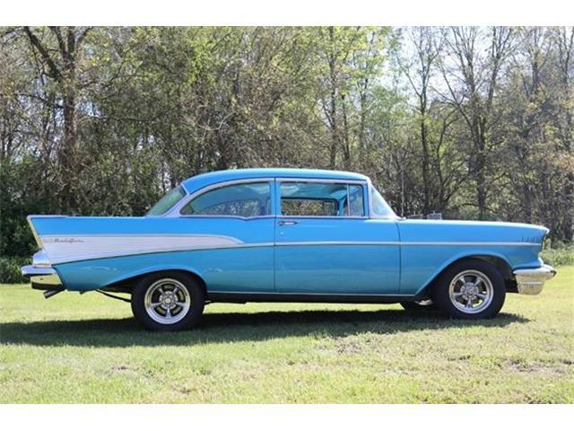 1957 Chevrolet 2-Dr Sedan (CC-1354171) for sale in Paw Paw, Michigan