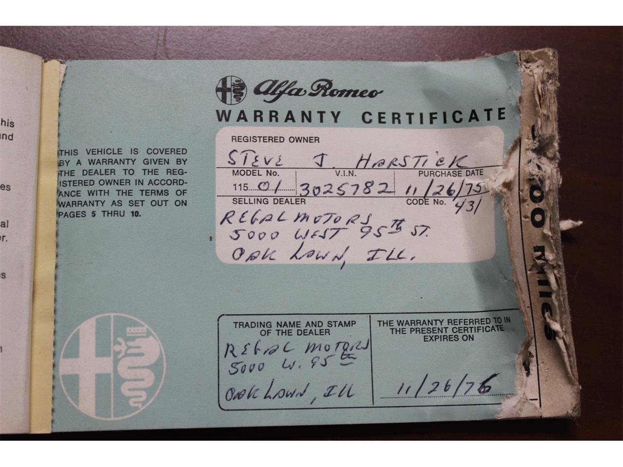 1974 Alfa Romeo 2000 GT (CC-1354393) for sale in Cleveland, Ohio