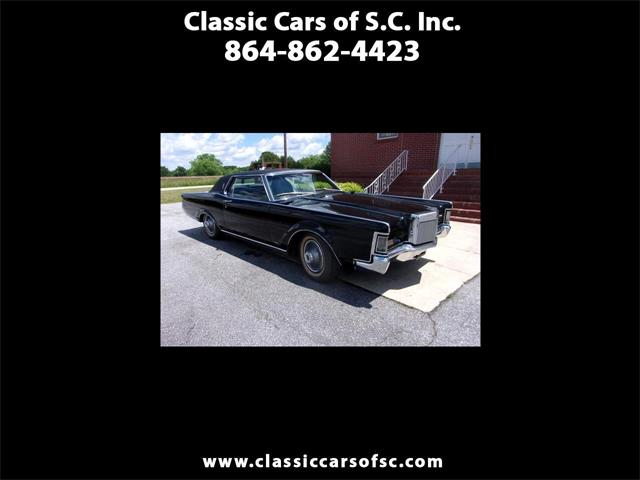 1969 Lincoln Continental Mark III (CC-1354458) for sale in Gray Court, South Carolina