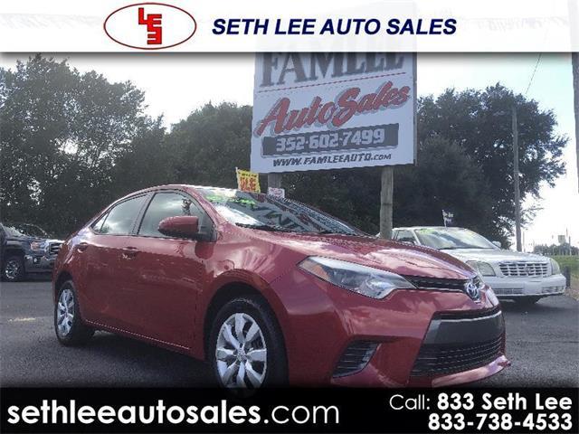 2016 Toyota Corolla (CC-1354543) for sale in Tavares, Florida