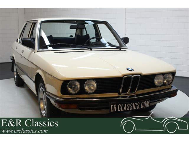 1980 BMW 5 Series (CC-1354575) for sale in Waalwijk, Noord-Brabant