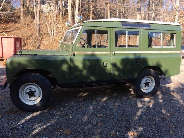 1963 Land Rover Series IIA (CC-1354597) for sale in Manchester, Massachusetts