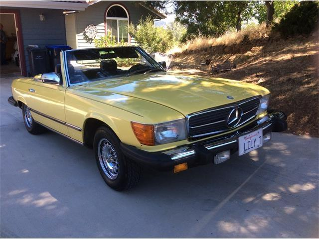1982 Mercedes-Benz 380SL