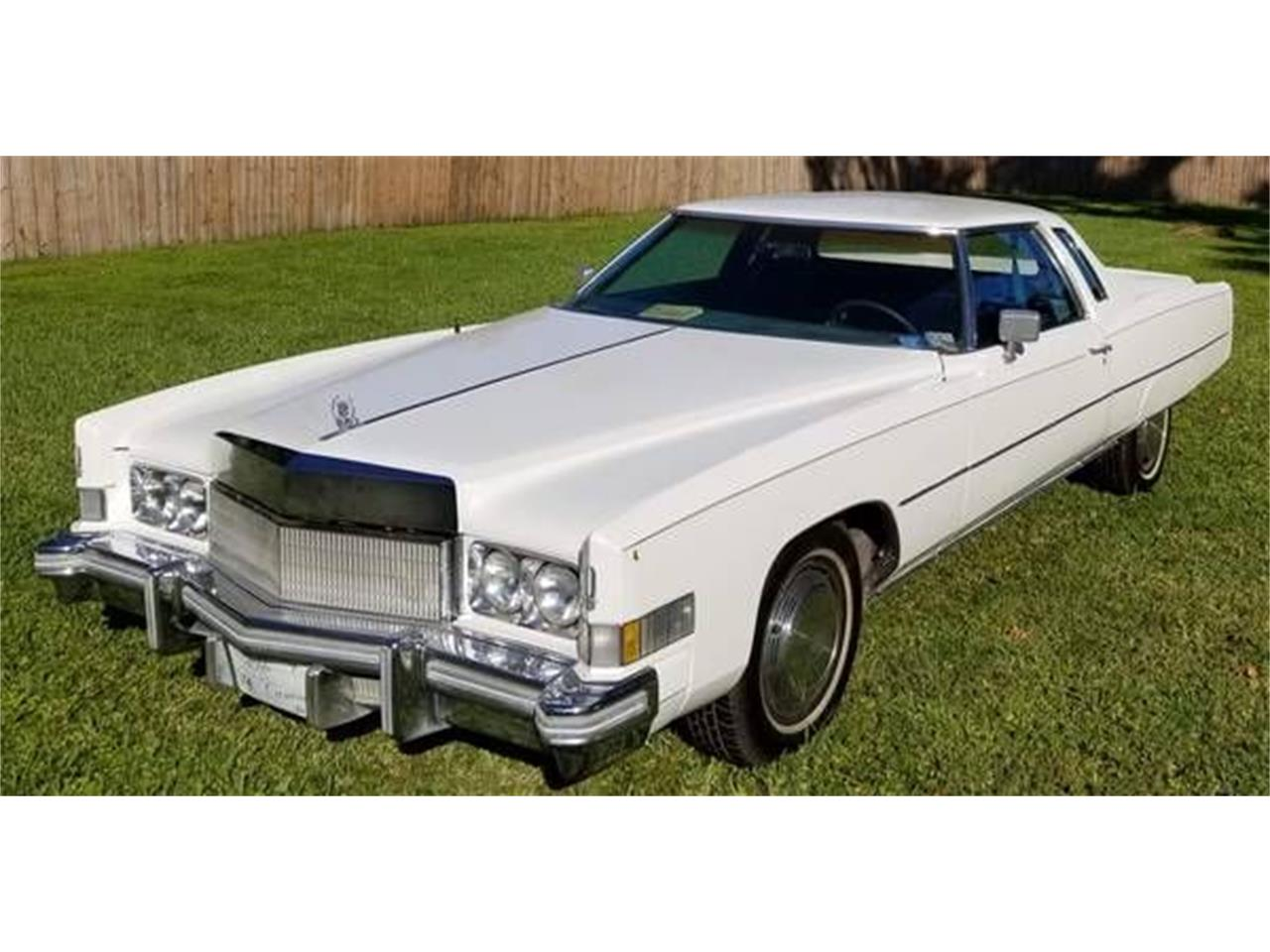 1974 Cadillac Eldorado (CC-1354757) for sale in Cadillac, Michigan