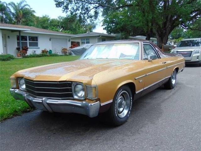1972 Chevrolet El Camino (CC-1354772) for sale in Cadillac, Michigan