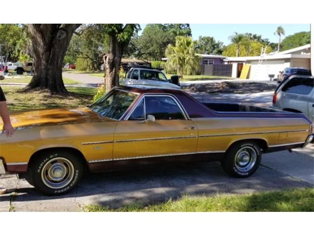 1972 Chevrolet El Camino (CC-1354772) for sale in Cadillac, Michigan