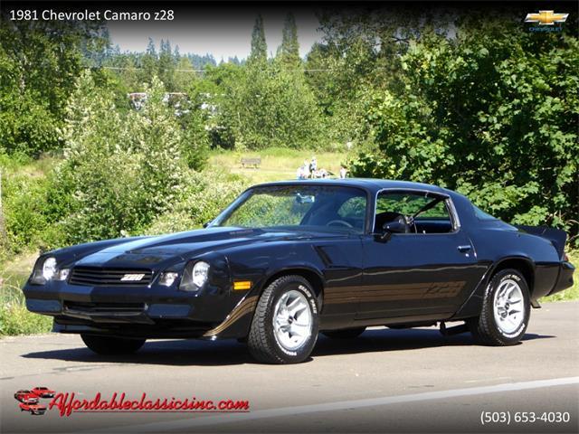 1981 Chevrolet Camaro Z28 (CC-1355112) for sale in Gladstone, Oregon