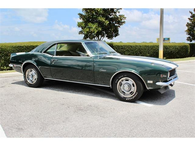 1968 Chevrolet Camaro (CC-1355306) for sale in Sarasota, Florida