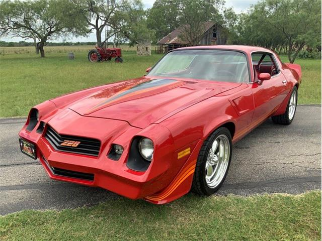 1981 Chevrolet Camaro (CC-1355326) for sale in Fredericksburg, Texas
