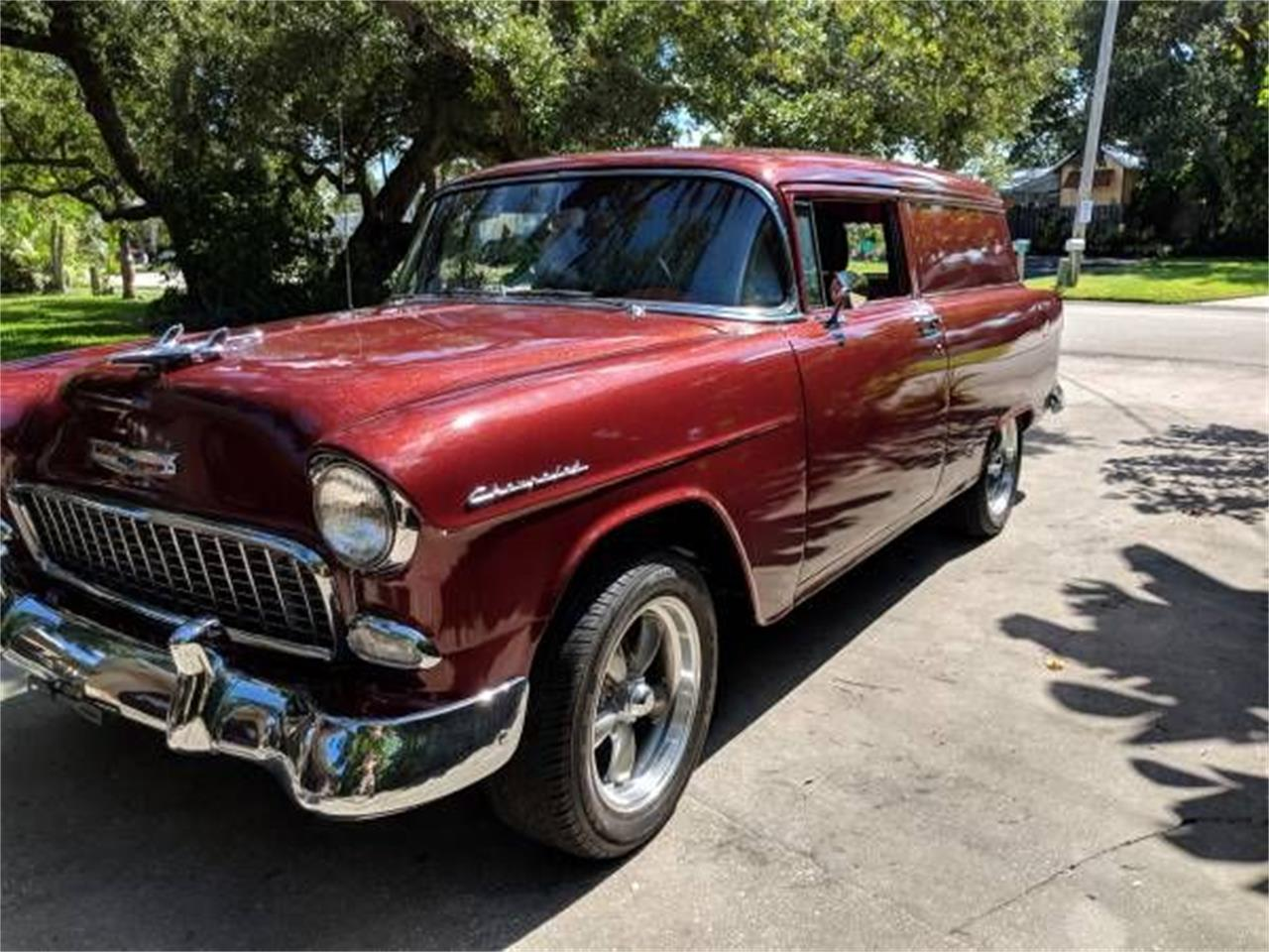 1955 Chevrolet Bel Air (CC-1355331) for sale in Cadillac, Michigan
