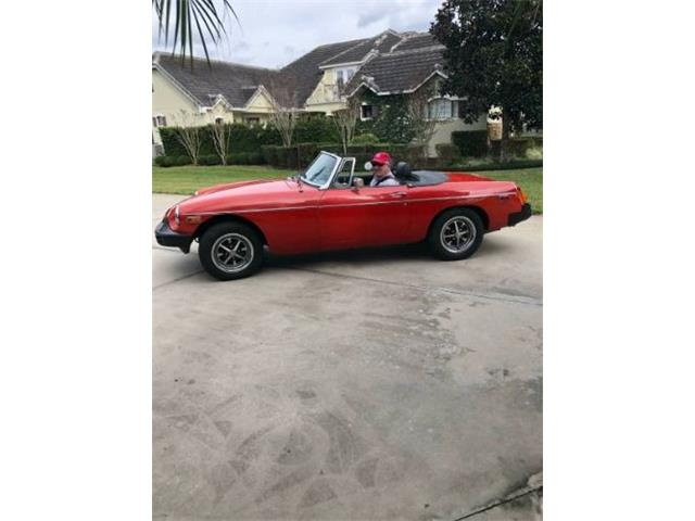 1977 MG MGB (CC-1355347) for sale in Cadillac, Michigan
