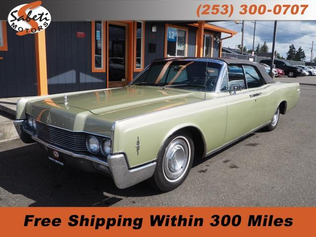 1966 Lincoln Continental (CC-1350542) for sale in Tacoma, Washington
