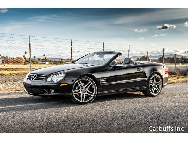 2003 Mercedes-Benz SL500 (CC-1355428) for sale in Concord, California