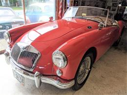 1957 MG MGA (CC-1355500) for sale in rye, New Hampshire