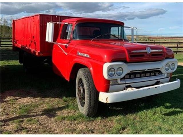 1960 Mercury Truck (CC-1355507) for sale in Grande Prairie , Alberta