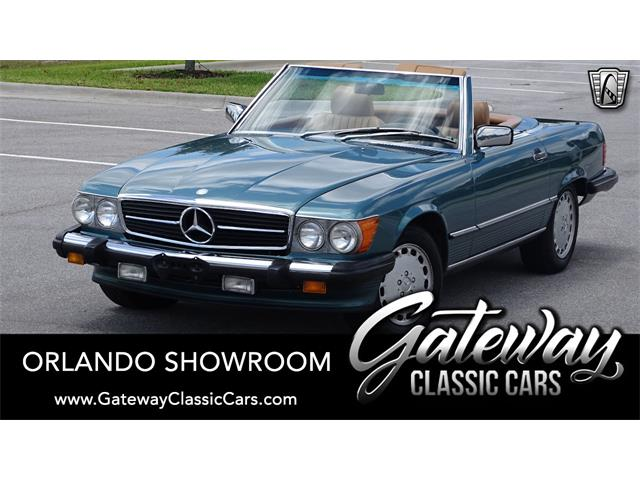 1987 Mercedes-Benz 560SL (CC-1350554) for sale in O'Fallon, Illinois