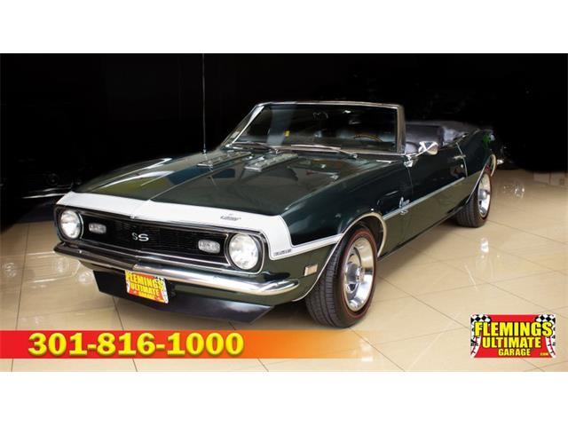 1968 Chevrolet Camaro (CC-1355584) for sale in Rockville, Maryland