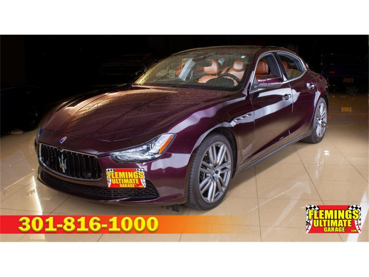 2017 Maserati Ghibli (CC-1355585) for sale in Rockville, Maryland