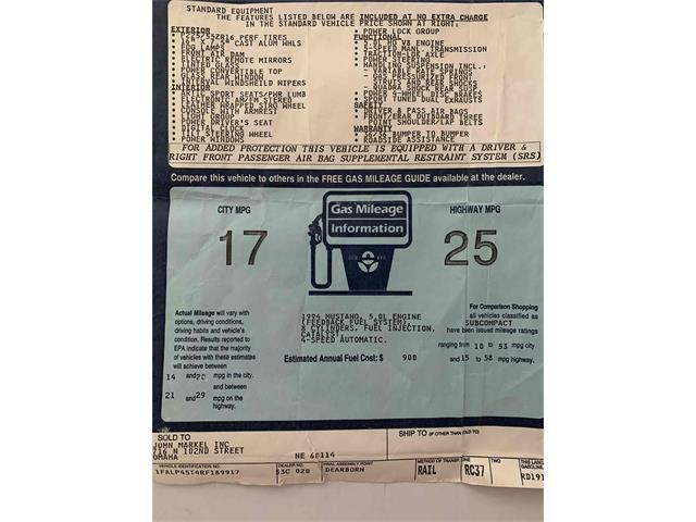 1994 Ford Mustang GT (CC-1350564) for sale in Omaha, Nebraska