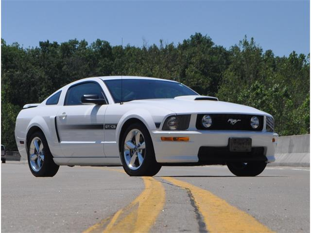 2008 Ford Mustang GT/CS (California Special)