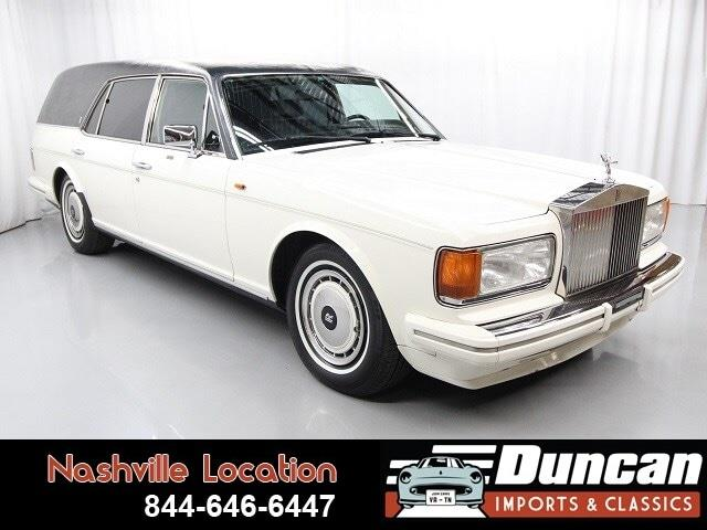 1991 Rolls-Royce Silver Spur (CC-1356395) for sale in Christiansburg, Virginia