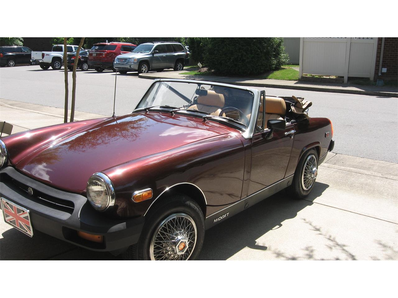 1977 MG Midget (CC-1356554) for sale in nashville, Tennessee