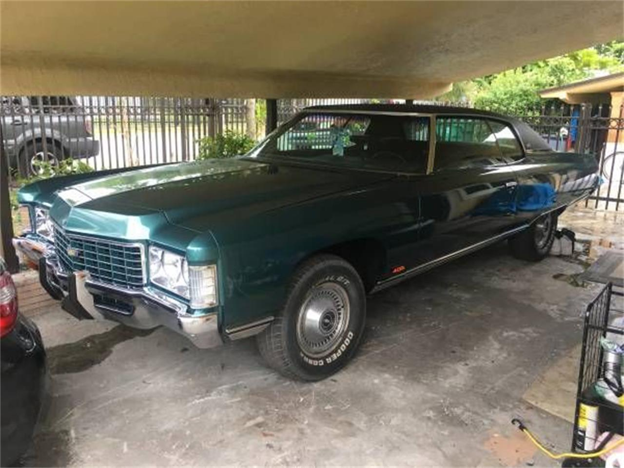 1971 Chevrolet Caprice (CC-1356640) for sale in Cadillac, Michigan