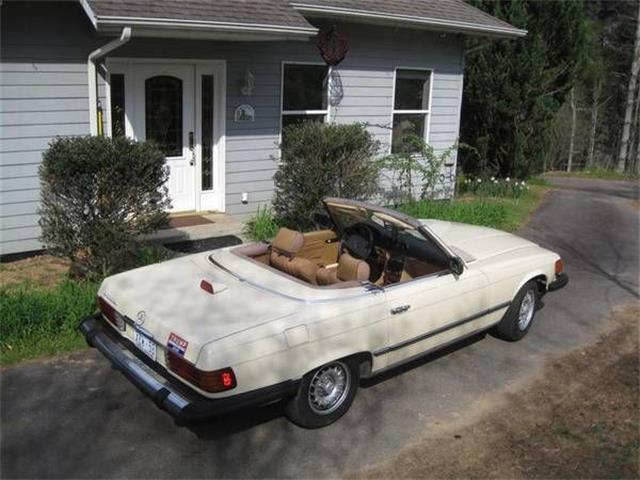 1985 Mercedes-Benz 380SL (CC-1356650) for sale in Cadillac, Michigan