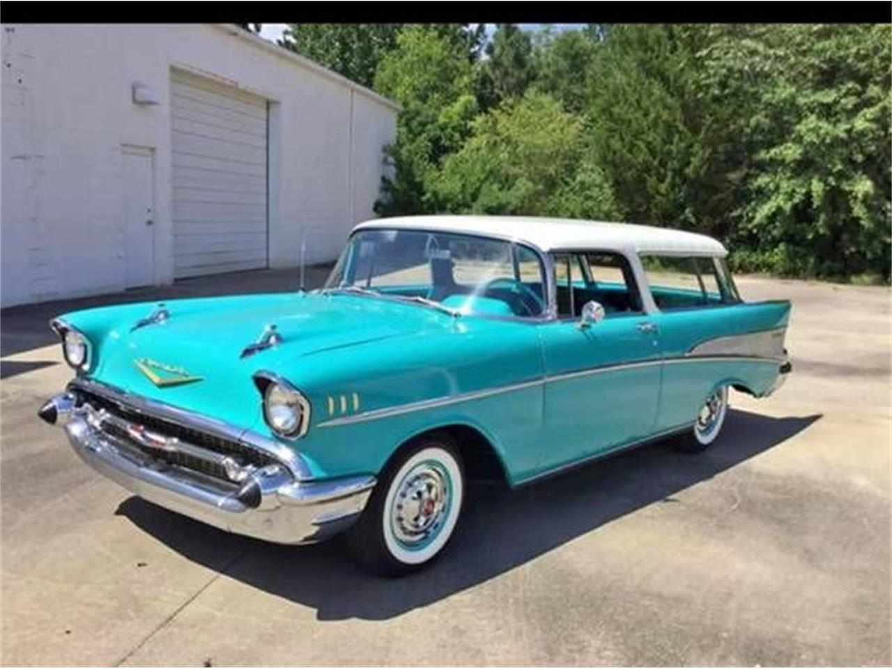 1957 Chevrolet Bel Air (CC-1356663) for sale in Cadillac, Michigan