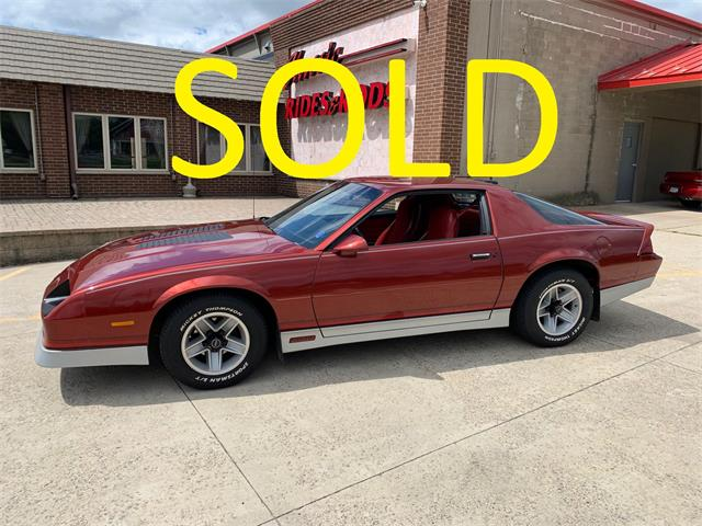 1986 Chevrolet Camaro Z28 (CC-1356876) for sale in Annandale, Minnesota