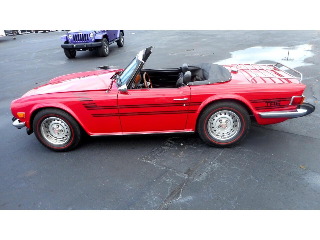 1976 Triumph TR6 (CC-1356973) for sale in Greenville, North Carolina