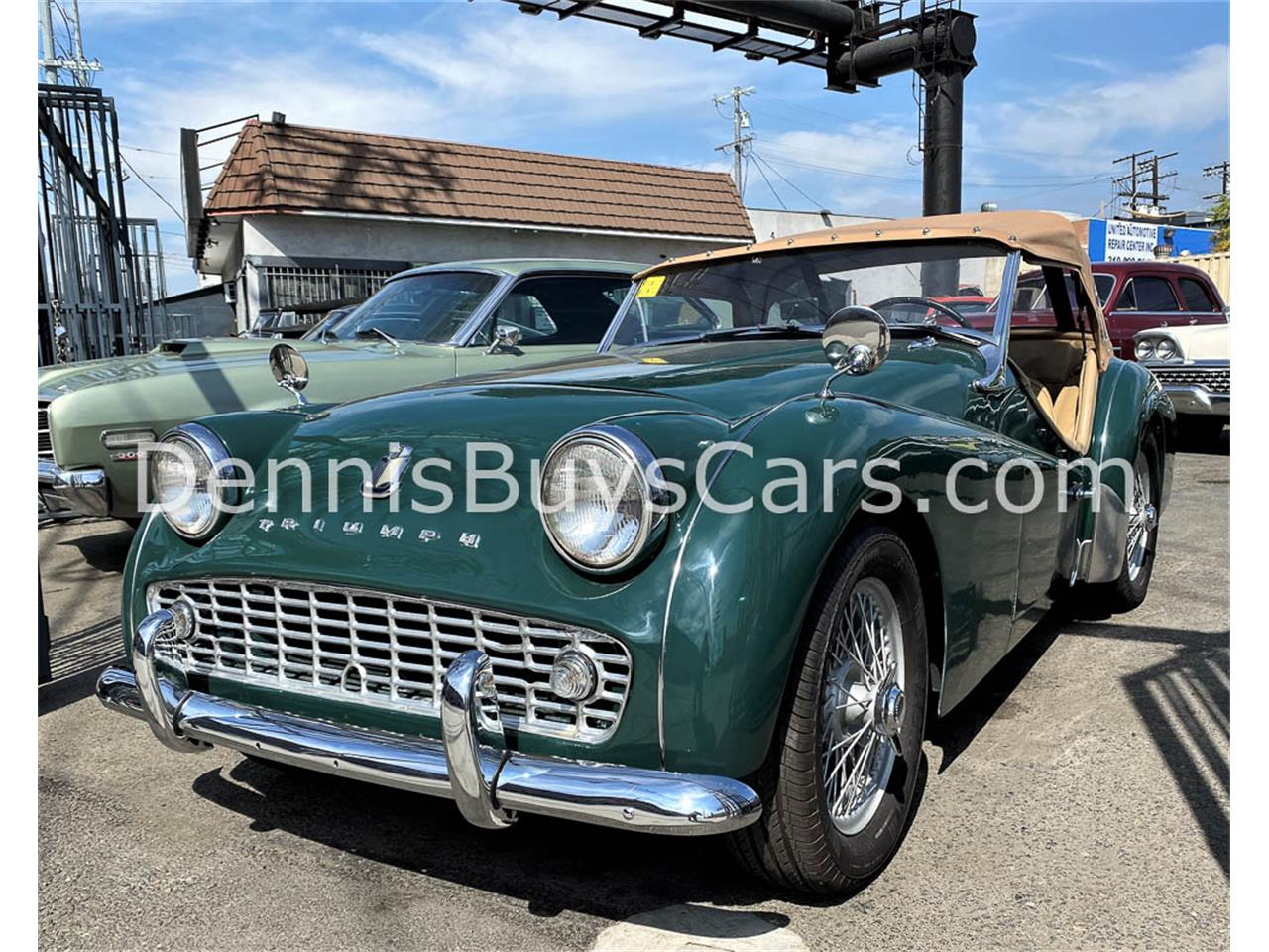 1960 Triumph TR3A (CC-1357050) for sale in LOS ANGELES, California