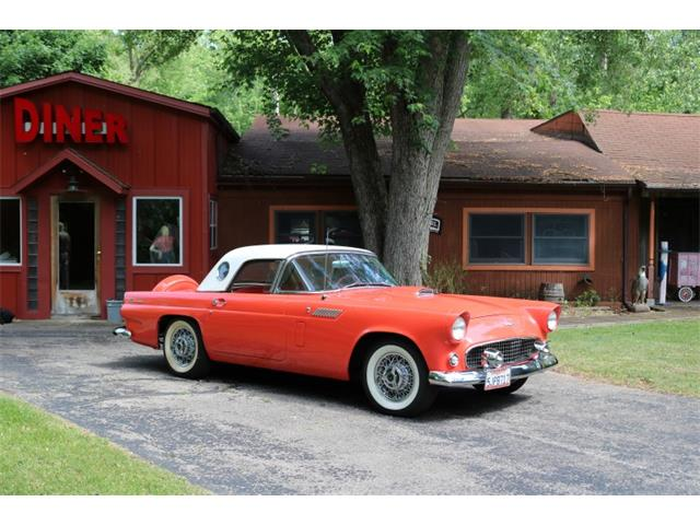 1956 Ford Thunderbird (CC-1357055) for sale in Lapeer, Michigan