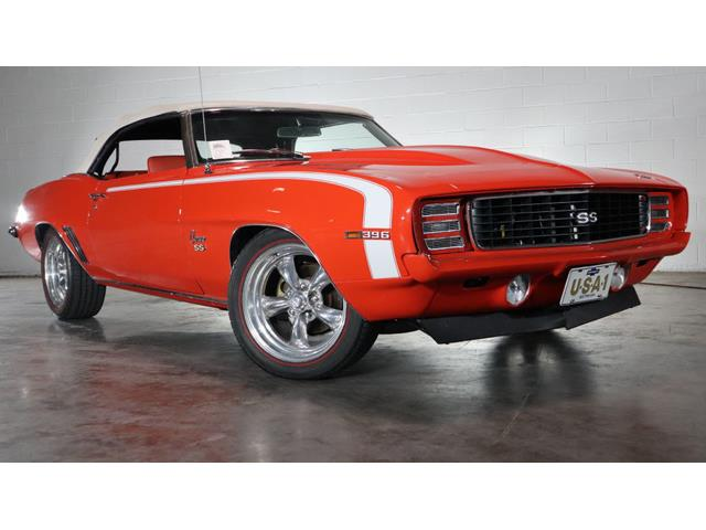 1969 Chevrolet Camaro RS (CC-1357133) for sale in Jackson, Mississippi