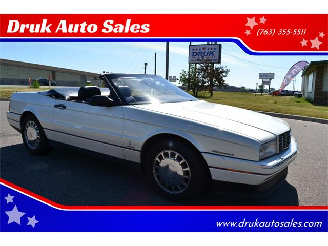 1993 Cadillac Allante (CC-1357172) for sale in Ramsey, Minnesota