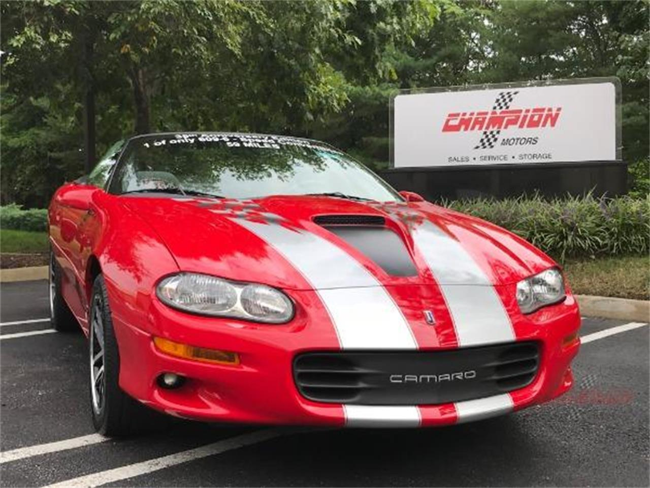 2002 Chevrolet Camaro (CC-1357258) for sale in Syosset, New York