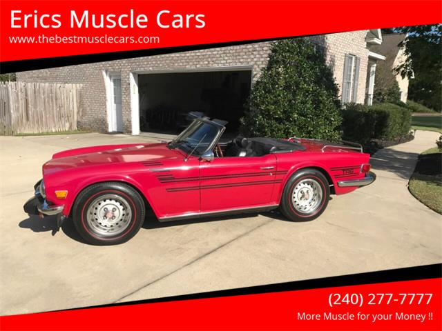 1976 Triumph TR6 (CC-1350742) for sale in Clarksburg, Maryland