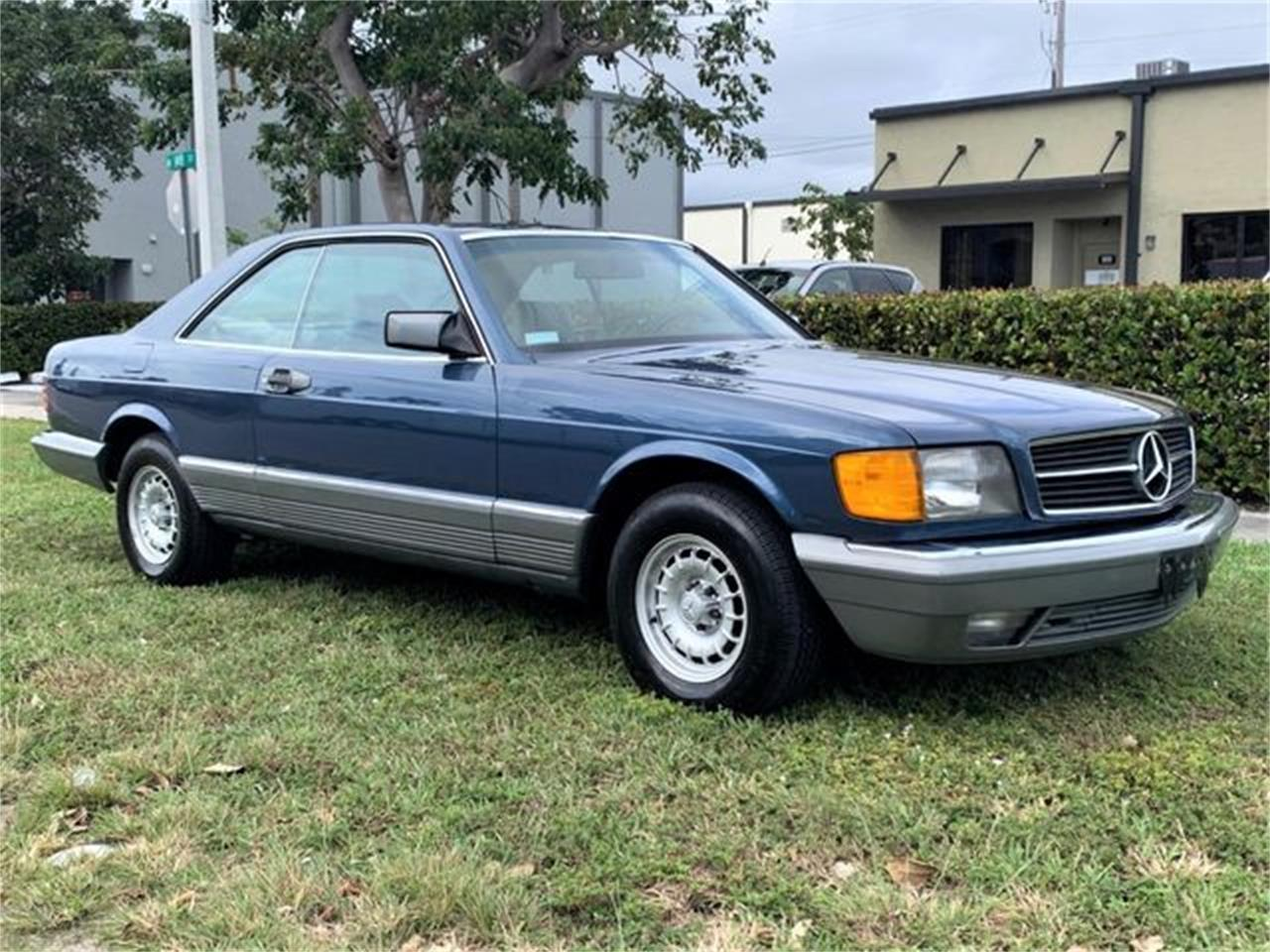 1984 Mercedes-Benz 500SEC (CC-1357454) for sale in Holly Hill, Florida