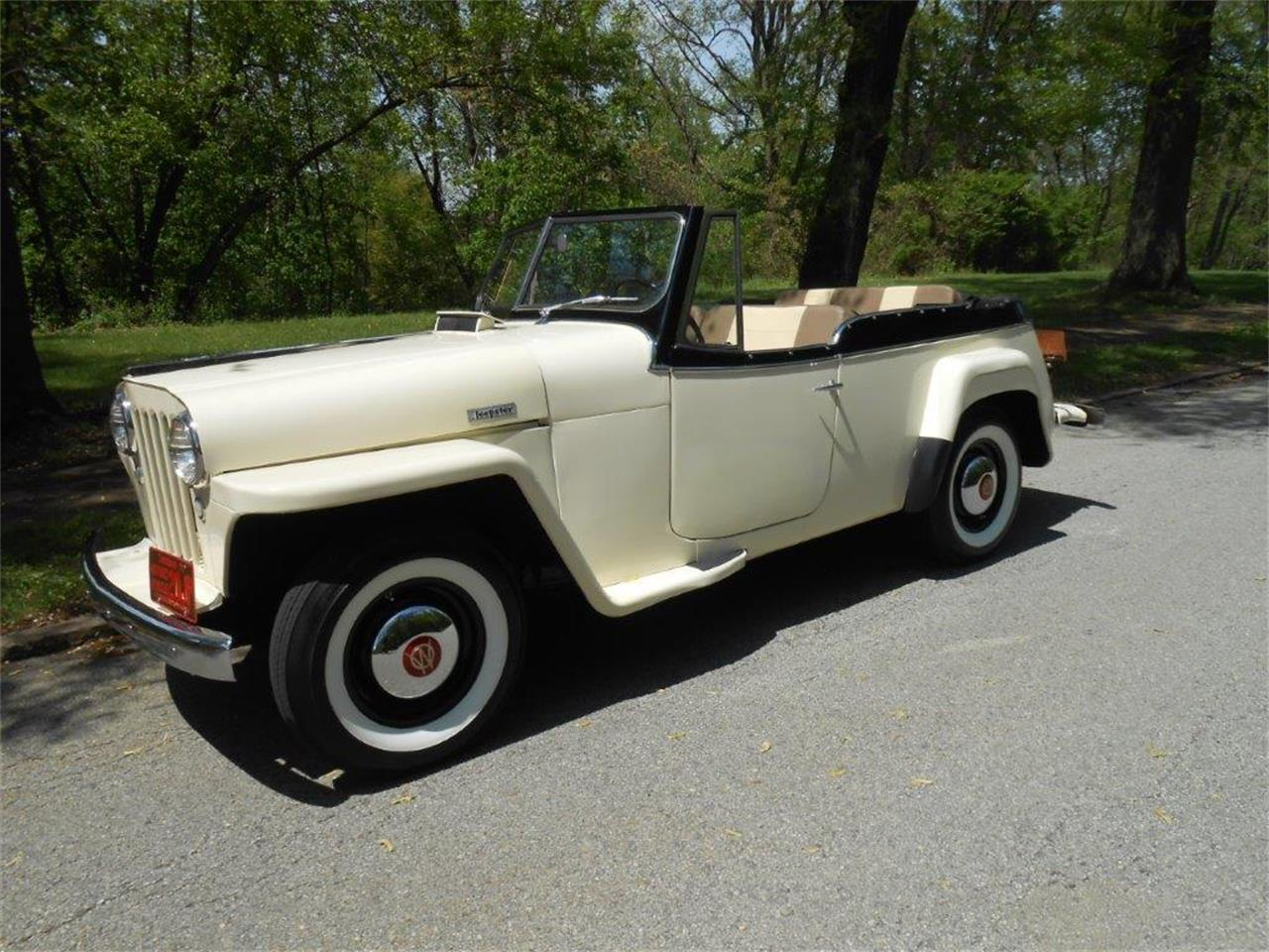 1949 Willys Jeepster (CC-1357519) for sale in CONNELLSVILLE, Pennsylvania