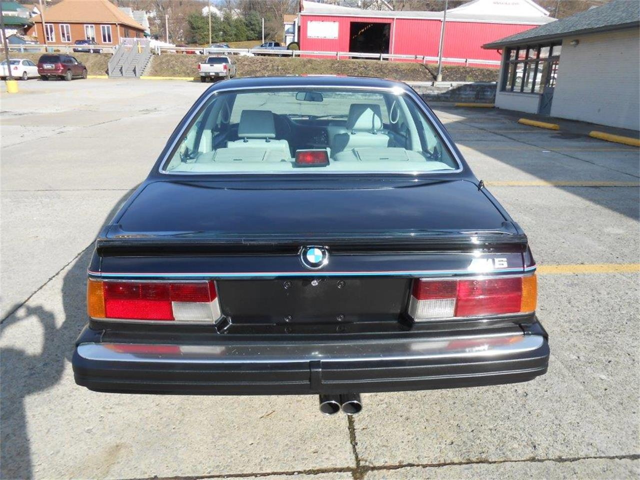 1987 BMW M6 (CC-1357530) for sale in CONNELLSVILLE, Pennsylvania