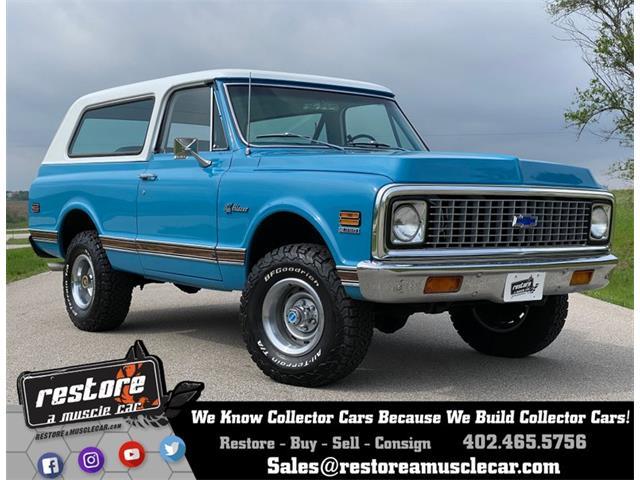 1971 Chevrolet Blazer (CC-1357753) for sale in Lincoln, Nebraska